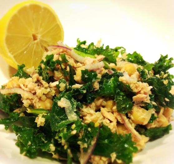 Tuna Salad with Kale