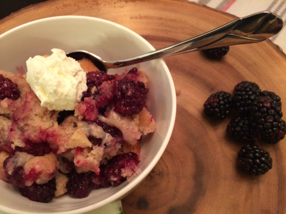 You know you want a bite ... blackberries ... cobbler ... nom, nom, nom!